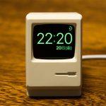 初代Macintosh型のApple Watchスタンドを買った